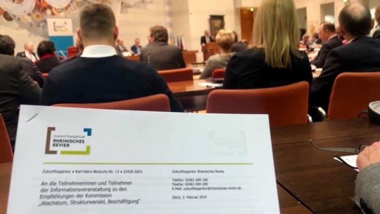 Konferenz Kohlekommission
