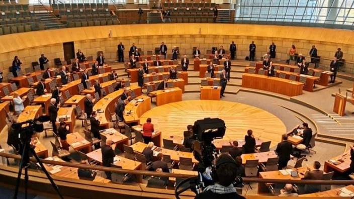 Sondersitzung Landtag NRW