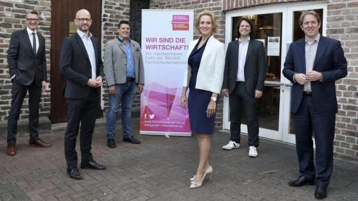 Junge Unternehmer NRW