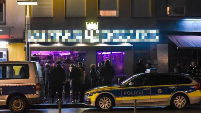 Razzia in shisha bars