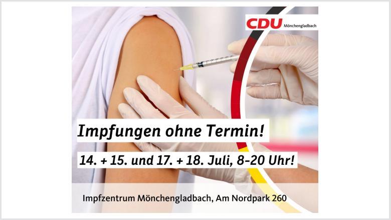Corona Impfung Mönchengladbach