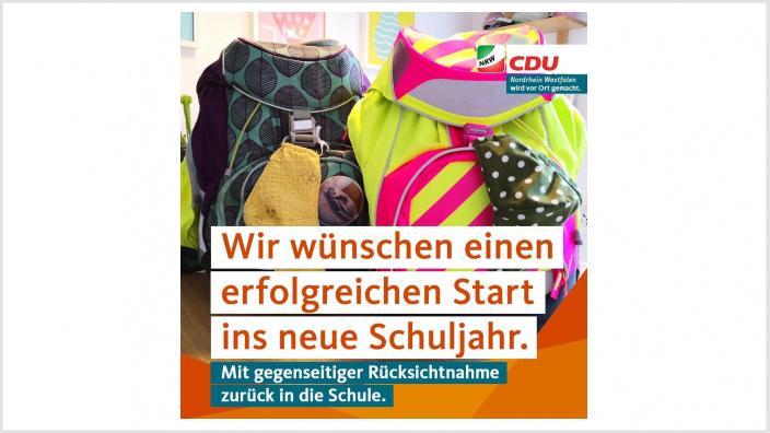 Schulstart in NRW