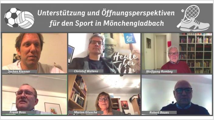 Öffnung Sport in Mönchengladbach
