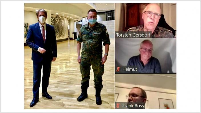 Videokonferenz Bundeswehr