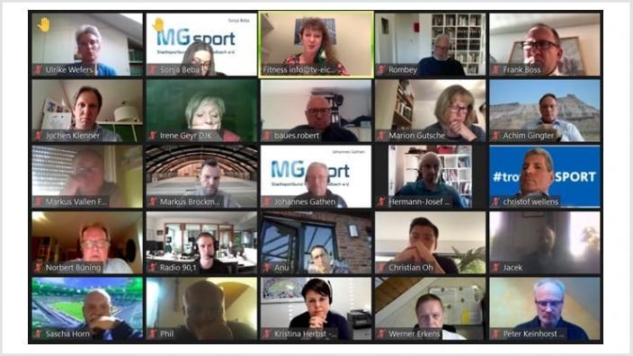 Videokonferenz Sport